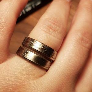 Jewelry - State handmade quarter rings